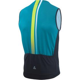 Löffler Aero Débardeur de cyclisme zippé Homme, enamel blue